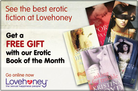 LoveHoney erotic fiction advertisement